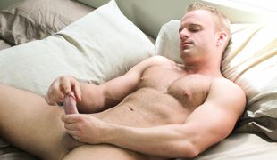 Horny Jimmy Dube's First Time on Cam