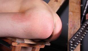 Cristian gets his hot little arse abused and used by dominant boy Aiden