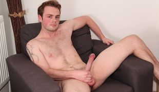 """Welcome our new addition, bisexual top Ty and his 8.5"""" cut cock ready for action!"""