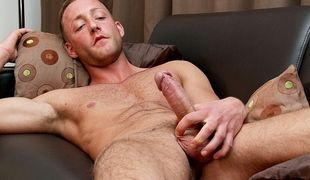 He might seem shy and a little innocent but Jonny Kingdom knows how to wank for the boys!