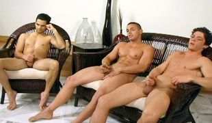 Skylar, Paul & Brad - Circle Jerk, Scene #01
