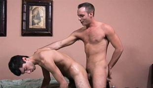 College Dudes - Devin Adams fucks Chad Carlisle
