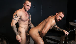 Sean's at it again and this time he has brought Michael to his playroom